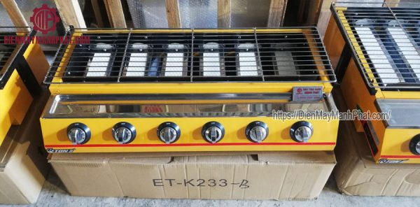 bếp nướng 6 họng ET-k233