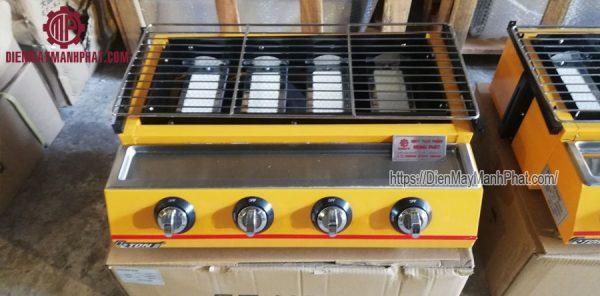 Bếp nướng gas 4 họng ET-K222